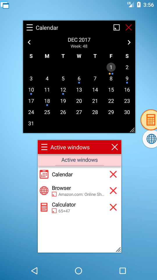 Floating Apps is complex multitasking solution.