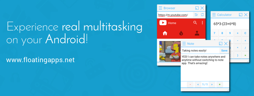 Free-Form Mode - Android Multitasking | Floating Apps